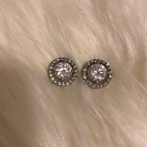 Swarovski Studded earrings